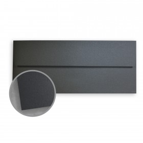 Stardream Anthracite Envelopes - No. 10 Square Flap (4 1/8 x 9 1/2) 81 lb Text Metallic C/2S 500 per Box
