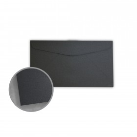 Stardream Anthracite Envelopes - No. 6 3/4 Regular (3 5/8 x 6 1/2) 81 lb Text Metallic C/2S 400 per Box