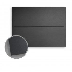 Stardream Anthracite Envelopes - A9 (5 3/4 x 8 3/4) 81 lb Text Metallic C/2S 250 per Box