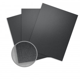 Stardream Anthracite Card Stock - 8 1/2 x 11 in 105 lb Cover Metallic C/2S 100 per Package