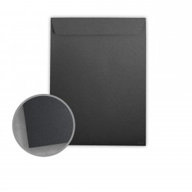 Stardream Anthracite Envelopes - No. 13 1/2 Catalog (10 x 13) 81 lb Text Metallic C/2S 500 per Box