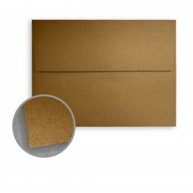 Stardream Antique Gold Envelopes - A10 (6 x 9 1/2) 81 lb Text Metallic C/2S 250 per Box