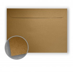 Stardream Antique Gold Envelopes - No. 13 Booklet (10 x 13) 81 lb Text Metallic C/2S 500 per Box