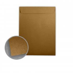 Stardream Antique Gold Envelopes - No. 13 1/2 Catalog (10 x 13) 81 lb Text Metallic C/2S 500 per Box