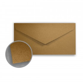 Stardream Antique Gold Envelopes - Monarch (3 7/8 x 7 1/2) 81 lb Text Metallic C/2S 400 per Box