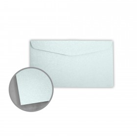Stardream Aquamarine Envelopes - No. 6 3/4 Regular (3 5/8 x 6 1/2) 81 lb Text Metallic C/2S 400 per Box