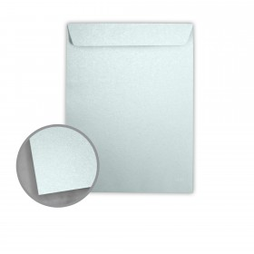 Stardream Aquamarine Envelopes - No. 13 1/2 Catalog (10 x 13) 81 lb Text Metallic C/2S 500 per Box