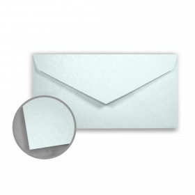 Stardream Aquamarine Envelopes - Monarch (3 7/8 x 7 1/2) 81 lb Text Metallic C/2S 400 per Box