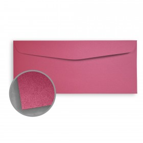 Stardream Azalea Envelopes - No. 10 Commercial (4 1/8 x 9 1/2) 81 lb Text Metallic C/2S 500 per Box