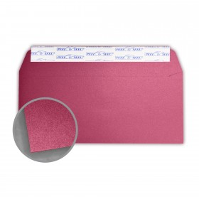 Stardream Azalea Envelopes - No. 10 Commercial Peel & Seal (4 1/8 x 9 1/2) 81 lb Text Metallic C/2S 500 per Box