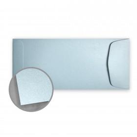 Stardream Bluebell Envelopes - No. 10 Policy (4 1/8 x 9 1/2) 81 lb Text Metallic C/2S 500 per Box