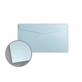 Stardream Bluebell Envelopes - No. 6 3/4 Regular (3 5/8 x 6 1/2) 81 lb Text Metallic C/2S 400 per Box