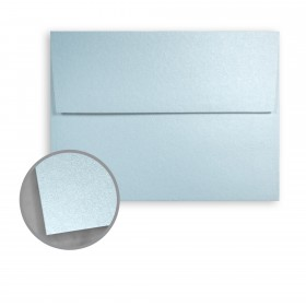 Stardream Bluebell Envelopes - A9 (5 3/4 x 8 3/4) 81 lb Text Metallic C/2S 250 per Box