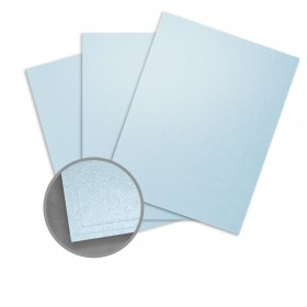 Stardream Bluebell Card Stock - 28.3 x 40.2 in 105 lb Cover Metallic C/2S 100 per Package