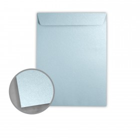 Stardream Bluebell Envelopes - No. 10 1/2 Catalog (9 x 12) 81 lb Text Metallic C/2S 500 per Box