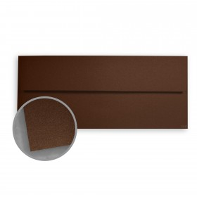 Stardream Bronze Envelopes - No. 10 Square Flap (4 1/8 x 9 1/2) 81 lb Text Metallic C/2S 500 per Box