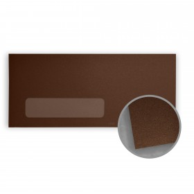 Stardream Bronze Envelopes - No. 10 Window (4 1/8 x 9 1/2) 81 lb Text Metallic C/2S 500 per Box