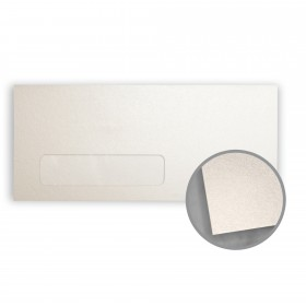 Stardream Citrine Envelopes - No. 10 Window (4 1/8 x 9 1/2) 81 lb Text Metallic C/2S 500 per Box