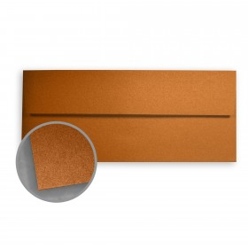 Stardream Copper Envelopes - No. 10 Square Flap (4 1/8 x 9 1/2) 81 lb Text Metallic C/2S 500 per Box