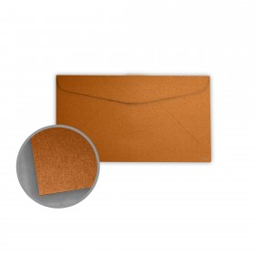 Stardream Copper Envelopes - No. 6 3/4 Regular (3 5/8 x 6 1/2) 81 lb Text Metallic C/2S 400 per Box