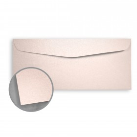 Stardream Coral Envelopes - No. 10 Commercial (4 1/8 x 9 1/2) 81 lb Text Metallic C/2S 500 per Box
