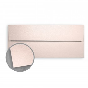 Stardream Coral Envelopes - No. 10 Square Flap (4 1/8 x 9 1/2) 81 lb Text Metallic C/2S 500 per Box