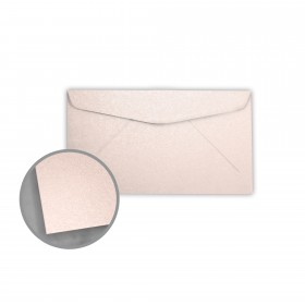 Stardream Coral Envelopes - No. 6 3/4 Regular (3 5/8 x 6 1/2) 81 lb Text Metallic C/2S 400 per Box