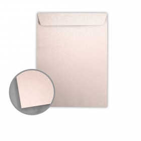 Stardream Coral Envelopes - No. 10 1/2 Catalog (9 x 12) 81 lb Text Metallic C/2S 500 per Box