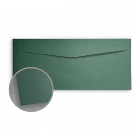 Stardream Emerald Envelopes - No. 10 Commercial (4 1/8 x 9 1/2) 81 lb Text Metallic C/2S 500 per Box