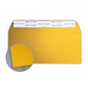 Stardream Fine Gold Envelopes - No. 10 Commercial Peel & Seal (4 1/8 x 9 1/2) 81 lb Text Metallic C/2S 500 per Box