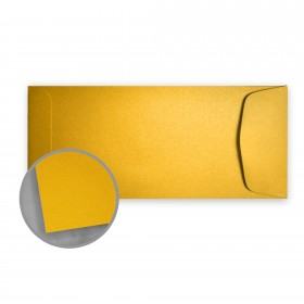 Stardream Fine Gold Envelopes - No. 10 Policy (4 1/8 x 9 1/2) 81 lb Text Metallic C/2S 500 per Box
