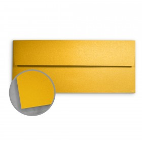 Stardream Fine Gold Envelopes - No. 10 Square Flap (4 1/8 x 9 1/2) 81 lb Text Metallic C/2S 500 per Box