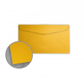Stardream Fine Gold Envelopes - No. 6 3/4 Regular (3 5/8 x 6 1/2) 81 lb Text Metallic C/2S 400 per Box