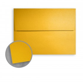 Stardream Fine Gold Envelopes - A7 (5 1/4 x 7 1/4) 81 lb Text Metallic C/2S 250 per Box