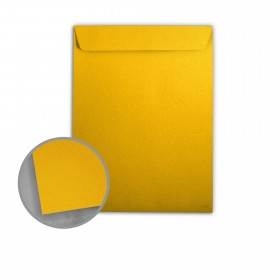 Stardream Fine Gold Envelopes - No. 10 1/2 Catalog (9 x 12) 81 lb Text Metallic C/2S 500 per Box
