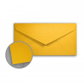 Stardream Fine Gold Envelopes - Monarch (3 7/8 x 7 1/2) 81 lb Text Metallic C/2S 400 per Box