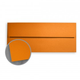 Stardream Flame Envelopes - No. 10 Square Flap (4 1/8 x 9 1/2) 81 lb Text Metallic C/2S 500 per Box