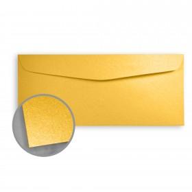 Stardream Gold Envelopes - No. 10 Commercial (4 1/8 x 9 1/2) 81 lb Text Metallic C/2S 500 per Box
