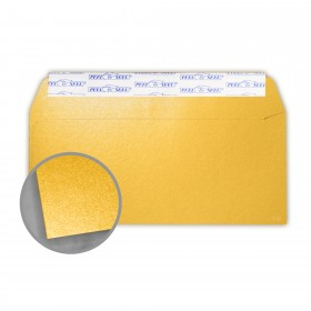 Stardream Gold Envelopes - No. 10 Commercial Peel & Seal (4 1/8 x 9 1/2) 81 lb Text Metallic C/2S 500 per Box