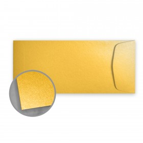 Stardream Gold Envelopes - No. 10 Policy (4 1/8 x 9 1/2) 81 lb Text Metallic C/2S 500 per Box
