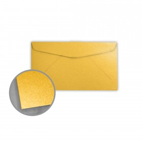 Stardream Gold Envelopes - No. 6 3/4 Regular (3 5/8 x 6 1/2) 81 lb Text Metallic C/2S 400 per Box