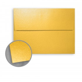 Stardream Gold Envelopes - A8 (5 1/2 x 8 1/8) 81 lb Text Metallic C/2S 250 per Box