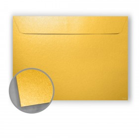 Stardream Gold Envelopes - No. 9 1/2 Booklet (9 x 12) 81 lb Text Metallic C/2S 500 per Box