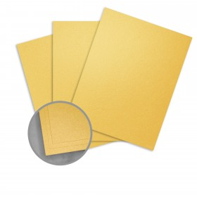 Stardream Gold Paper - 8 1/2 x 11 in 81 lb Text Metallic C/2S 250 per Package