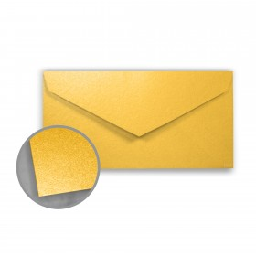 Stardream Gold Envelopes - Monarch (3 7/8 x 7 1/2) 81 lb Text Metallic C/2S 400 per Box