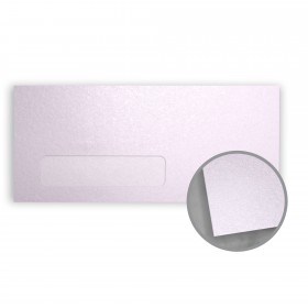 Stardream Kunzite Envelopes - No. 10 Window (4 1/8 x 9 1/2) 81 lb Text Metallic C/2S 500 per Box