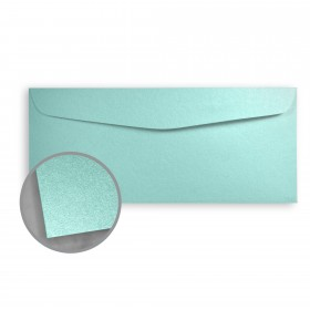 Stardream Lagoon Envelopes - No. 10 Commercial (4 1/8 x 9 1/2) 81 lb Text Metallic C/2S 500 per Box