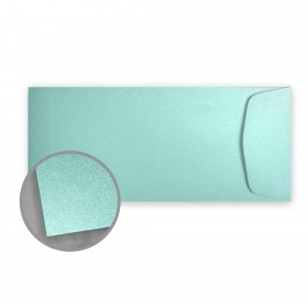 Stardream Lagoon Envelopes - No. 10 Policy (4 1/8 x 9 1/2) 81 lb Text Metallic C/2S 500 per Box