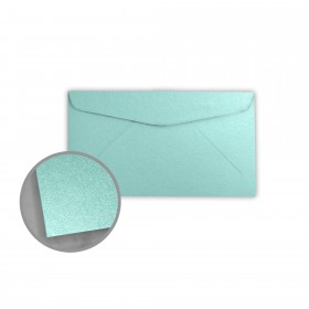 Stardream Lagoon Envelopes - No. 6 3/4 Regular (3 5/8 x 6 1/2) 81 lb Text Metallic C/2S 400 per Box