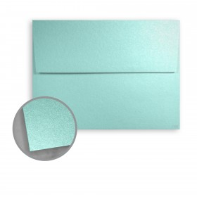 Stardream Lagoon Envelopes - A7 (5 1/4 x 7 1/4) 81 lb Text Metallic C/2S 250 per Box
